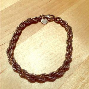 Pre-loved Tiffany & Co. rope bracelet